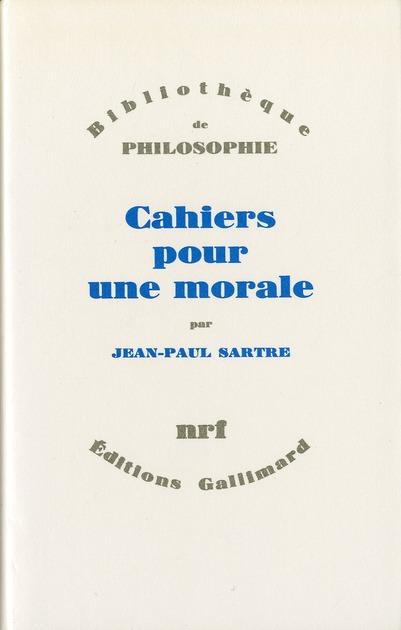 Cahiers Pour Une Morale