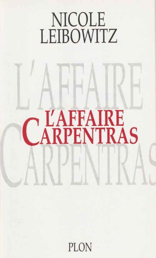 L'Affaire Carpentras