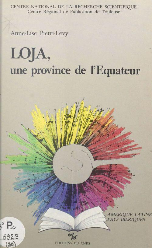 Loja, une province de l'equateur