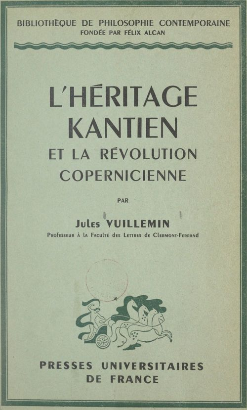 L'héritage kantien et la révolution copernicienne