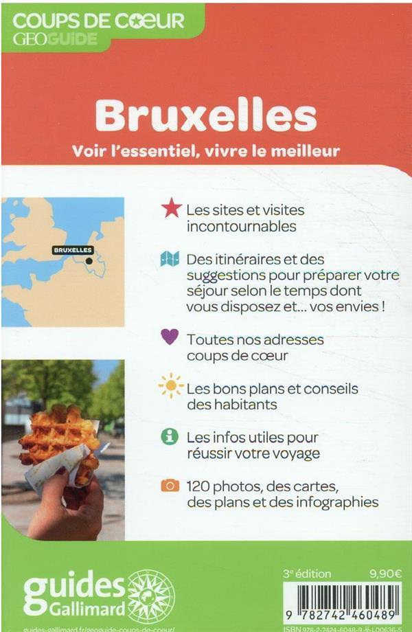 GEOguide coups de coeur ; Bruxelles (édition 2021)