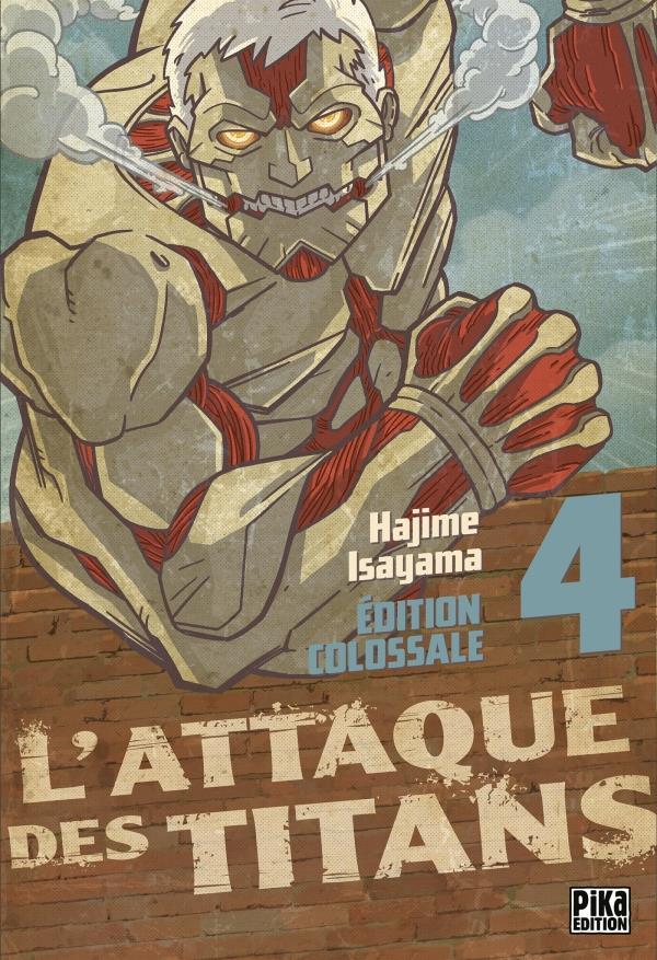 L'Attaque Des Titans ; Integrale Vol.4 ; T.10 A T.12