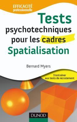 Tests psychotechniques pour les cadres ; spatialisation