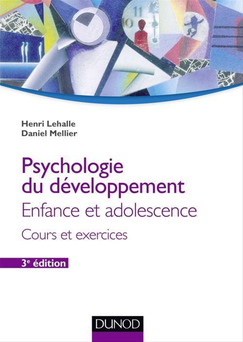 Psychologie du développement - 3e éd.