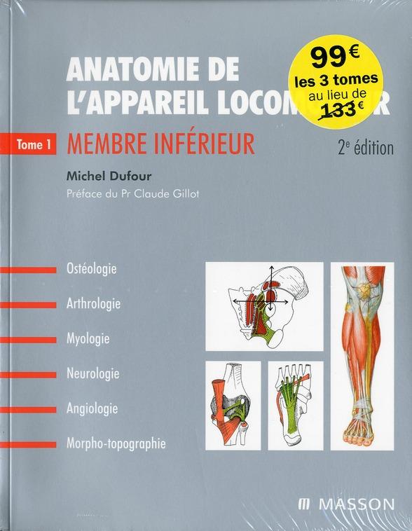 Anatomie Appareil Locomoteur (2e Edition)