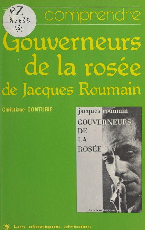 «Gouverneurs de la rosée» de Jacques Roumain