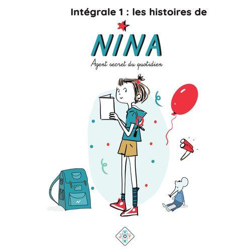 Vente AudioBook : Intégrale 1 : histoires de Nina, agent secret du quotidien  - Catherine Verlaguet
