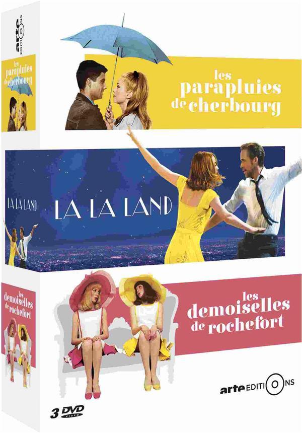 Les Parapluies de Cherbourg + La La Land + Les Demoiselles de Rochefort
