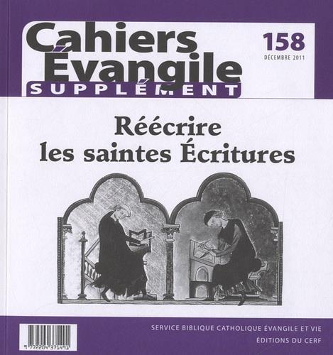 SCE-158 REECRIRE LES SAINTES ECRITURES