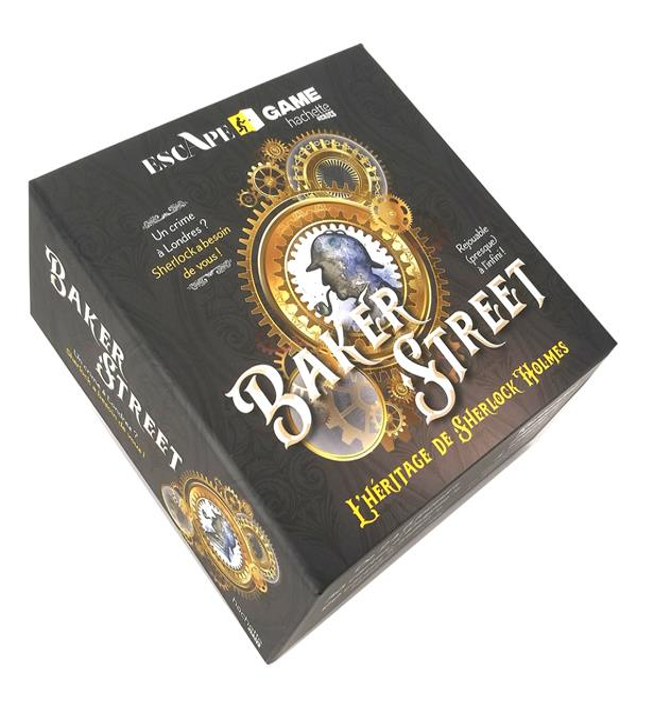 Escape game ; Baker street ; l'héritage de Sherlock Holmes
