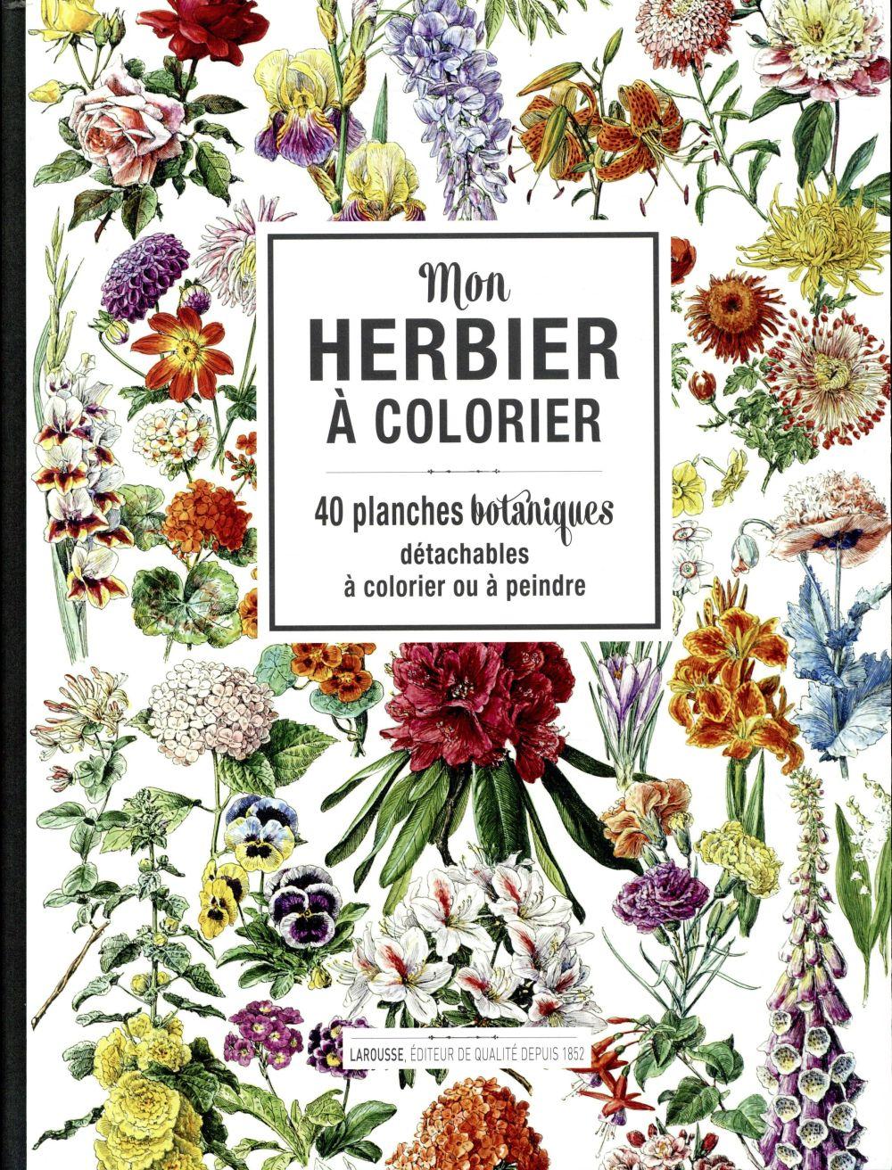 Mon herbier à colorier