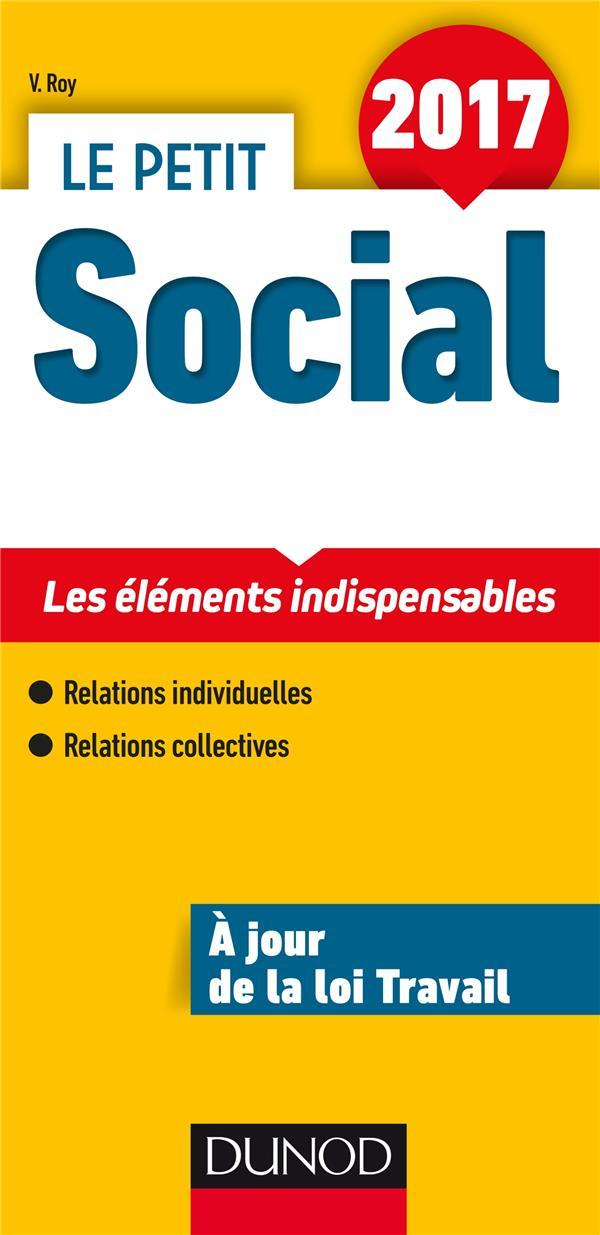 le petit social ; les points clés en 21 fiches (édition 2017)