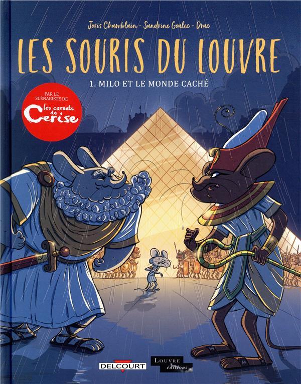 Les souris du Louvre t.1 ; Milo et le monde caché