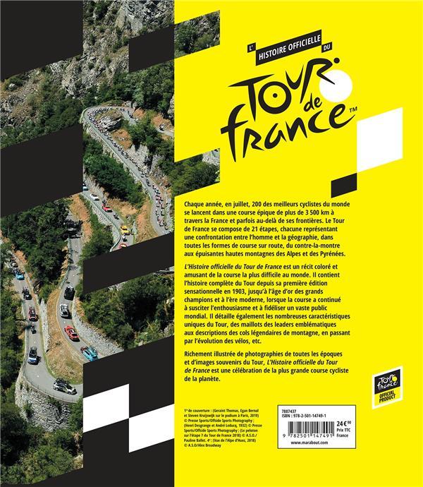 l'histoire officielle du Tour de France
