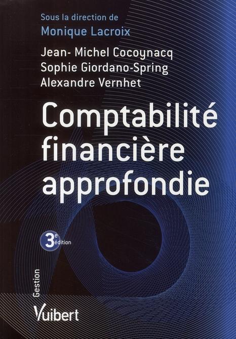 Comptabilite Financiere Approfondie 3e Edition