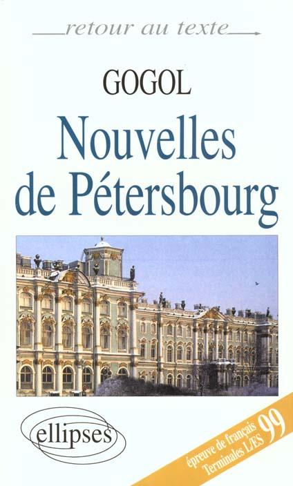 Nouvelles de Pétersbourg ; Terminales L/ES ; bac 99