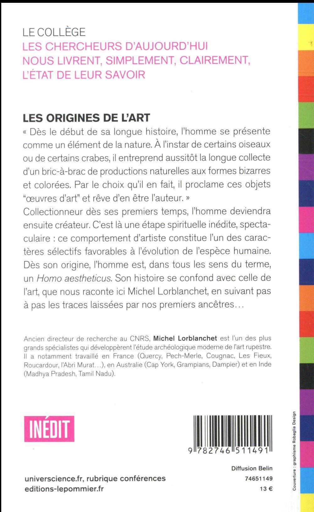 Les origines de l'art (édition 2017)