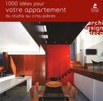 Couverture de 1000 idées pour votre appartement du studio au cinq-pièces