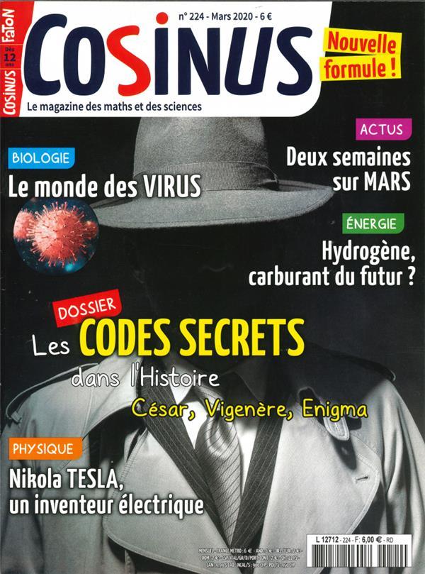 Cosinus n 224 les codes secrets
