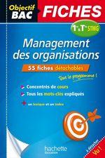 Vente Livre Numérique : Objectif Bac Fiches Management 1Re Et Term Stmg  - Jean-Bernard Ducrou