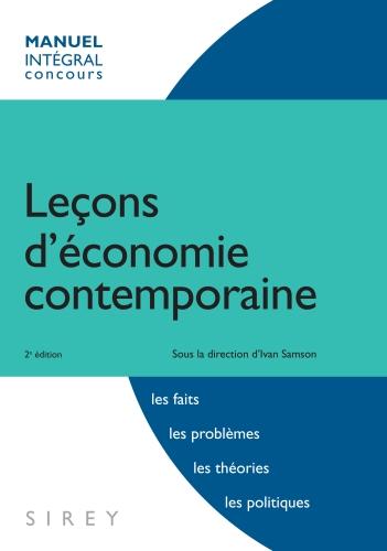 Lecon D'Economie Contemporaine (2e Edition)
