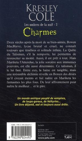 Les ombres de la nuit t.3 ; charmes