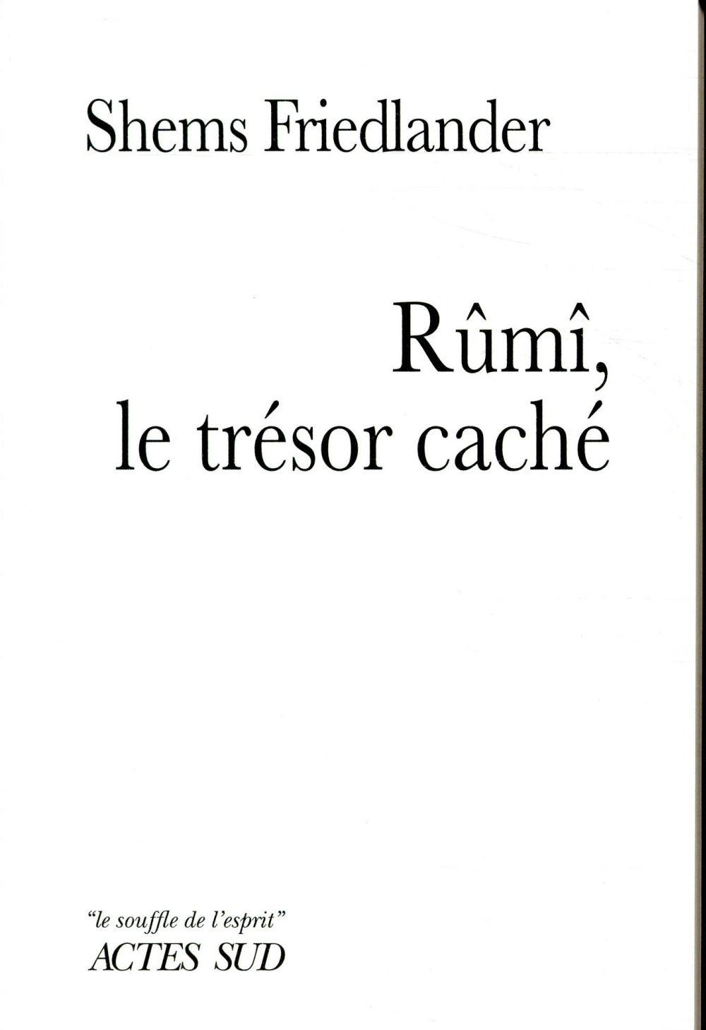 Rumi, Le Tresor Cache