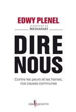 Vente Livre Numérique : Dire nous  - Edwy PLENEL