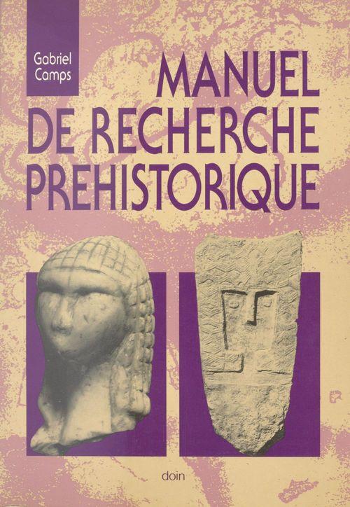 Manuel de recherche prehistorique