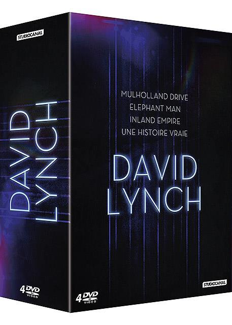 David Lynch - Coffret - Inland Empire + Une histoire vraie + Mulholland Drive + Elephant Man