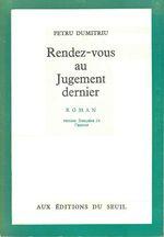 Vente Livre Numérique : Rendez-vous au jugement dernier  - Petru Dumitriu