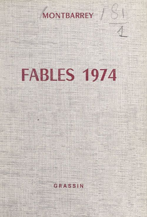 Fables 1974