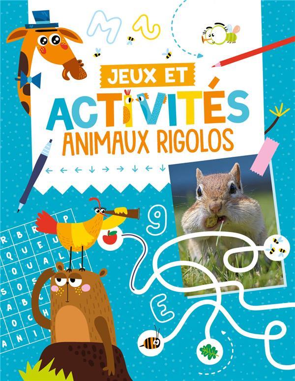 Jeux et activités ; animaux rigolos