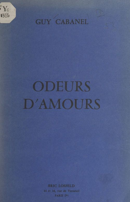 Odeurs d'amours