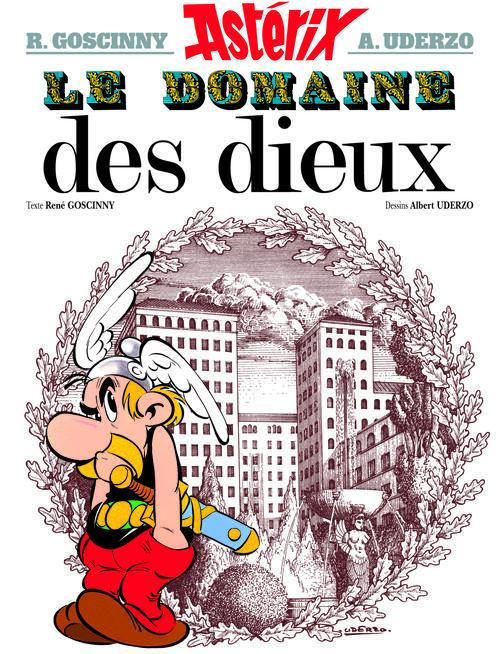 ASTERIX T.17  -  LE DOMAINE DES DIEUX