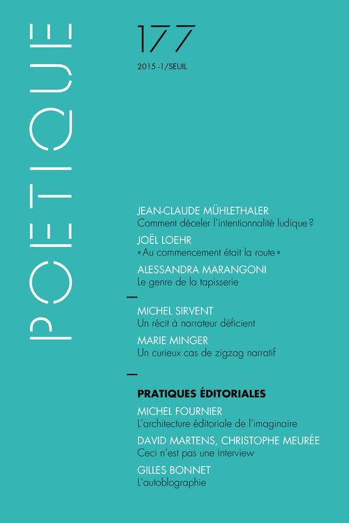 Revue poetique n.177