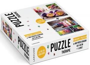 Puzzle thérapie ; la vie en couleurs