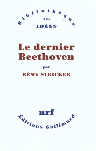 Le dernier Beethoven