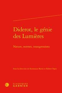 Diderot, Le Genie Des Lumieres - Nature, Normes, Transgressions