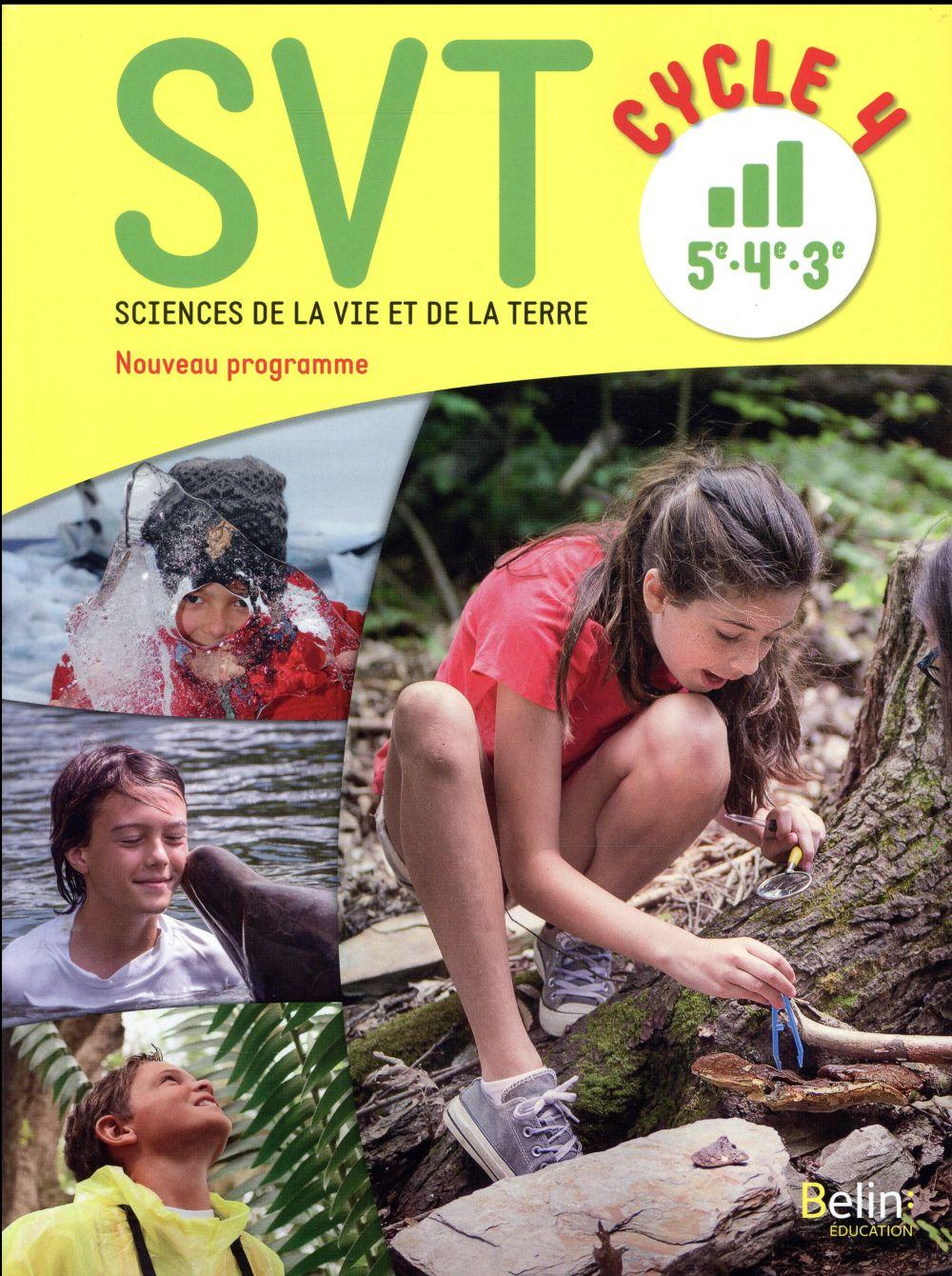SVT ; cycle 4 ; livre de l'élève (édition 2017)