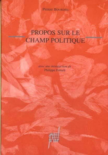 Propos Sur Le Champ Politique