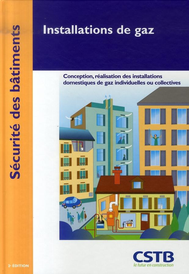 Installations de gaz (2e édition)