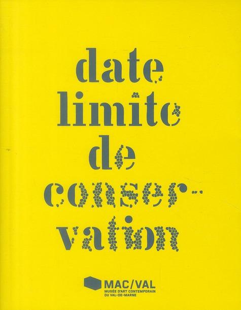 Date limite de conservation