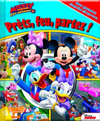 Mon premier cherche et trouve T.23 ; Mickey et ses amis - top départ ; prêts, feu, partez !