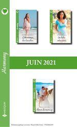 Vente EBooks : Pack mensuel Harmony : 3 romans (Juin 2021)  - Rebecca Winters - kathy Douglass - Rosanna Battigelli