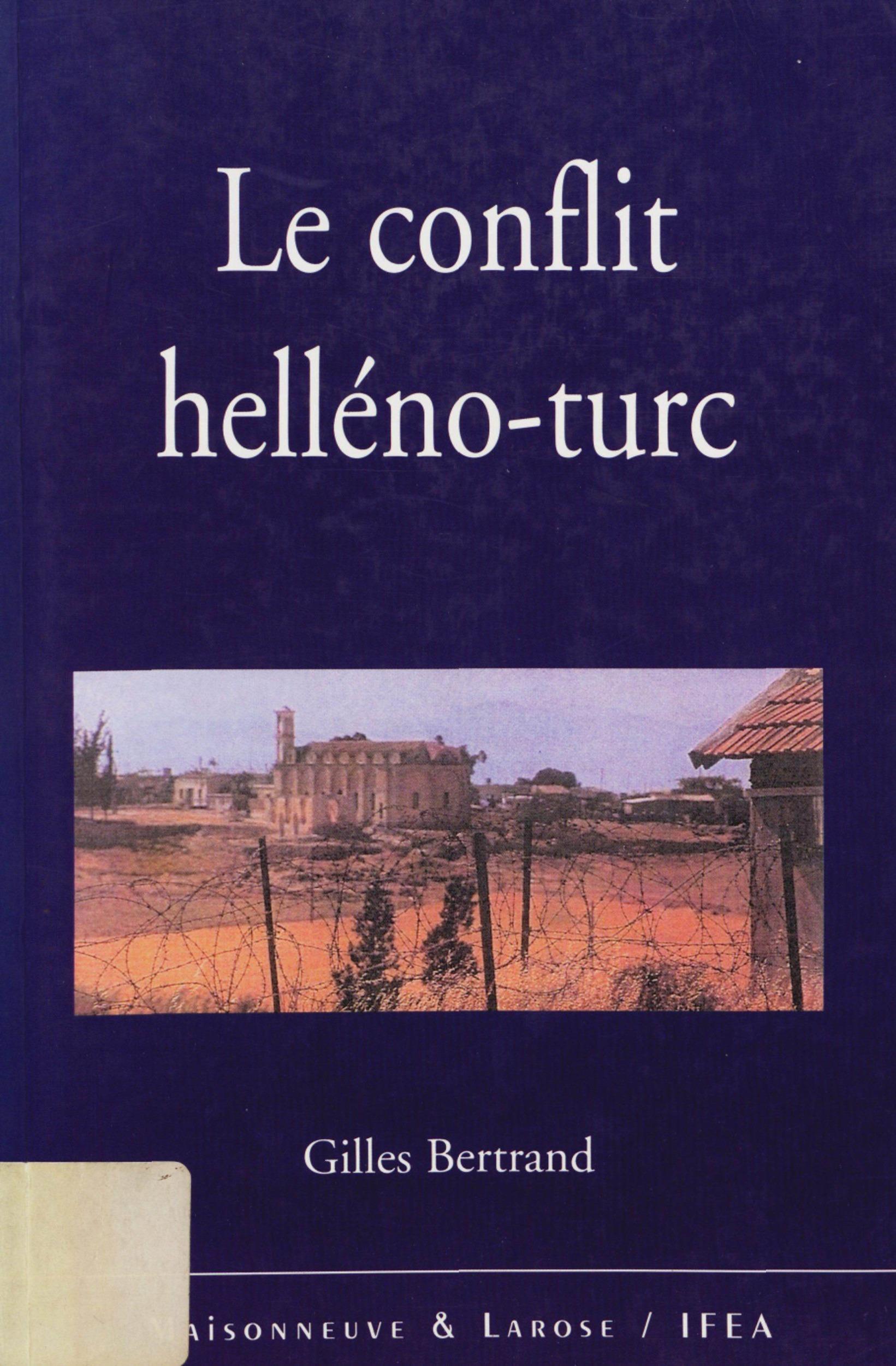 Le conflit helleno-turc