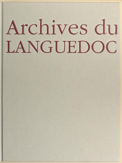 Archives du Languedoc
