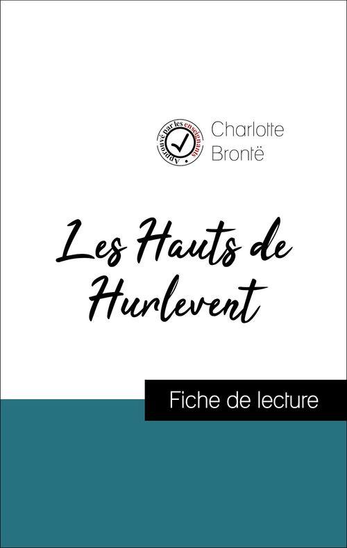 Les Hauts de Hurlevent d'Emily Brontë (Fiche de lecture de référence)