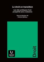 Vente EBooks : Le droit en transition  - Antoine Bailleux
