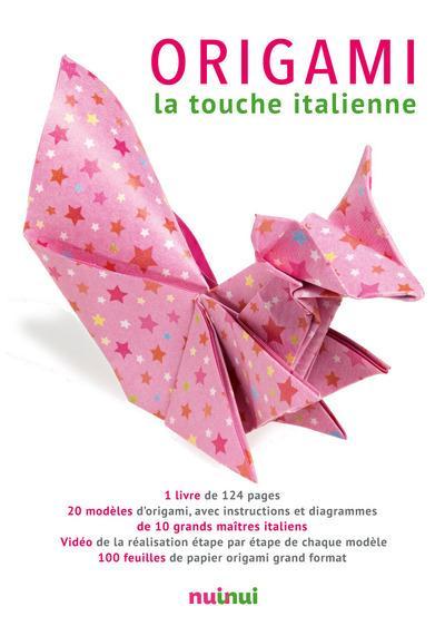 Origami ; la touche italienne